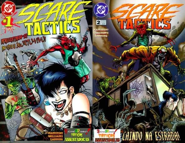 Scare Tactics #01 e #02
