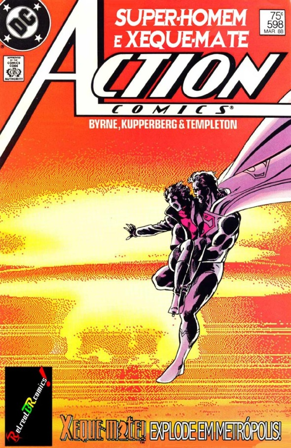 Action Comics #598 (Super-Homem & Xeque-Mate)