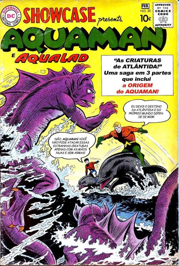 Showcase #30 (A Origem Do Aquaman)